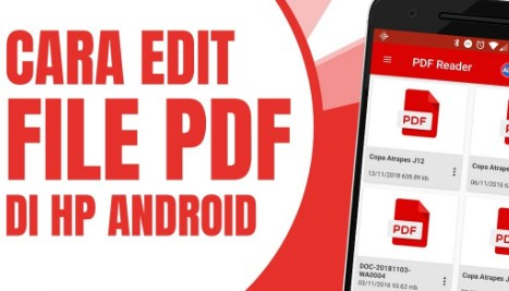 Cara Mengedit File PDF di HP