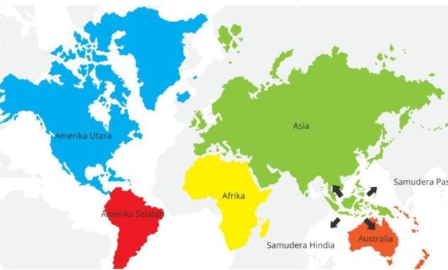 Coba Anda Sebutkan Letak Geografis Indonesia